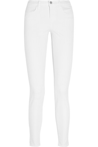 jeans skinny jeans high white