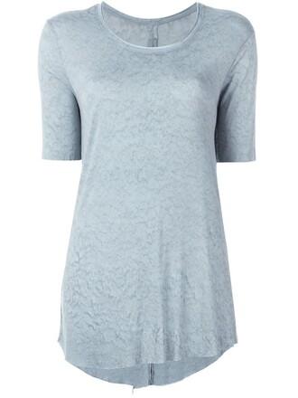 t-shirt shirt tie dye print blue top