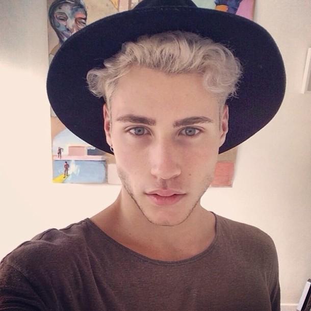 Hat: black, wool, felt, guys, menswear, fashion, hot ...