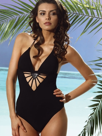 Designer Swimwear 2013 Diamond Shine One Piece Jolidon Swimsuits