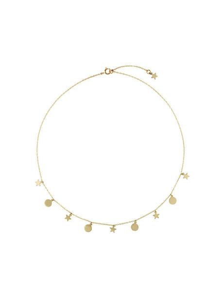 Lil Jewelry women necklace gold grey metallic jewels
