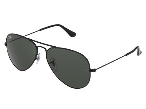 Ray-Ban 3025 Original Aviator size 58mm   Black/G-15xlt Lens - Zappos.com Free Shipping BOTH Ways