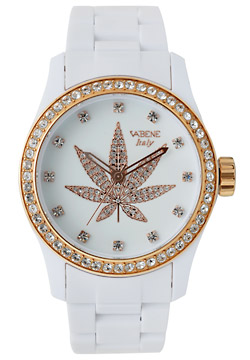 VaBene Marijuana Logo Men's Watch