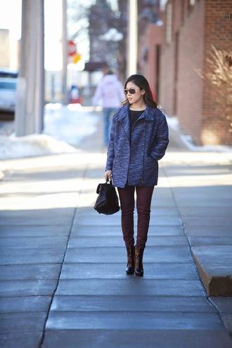wearing fashion fluently blogger skinny pants