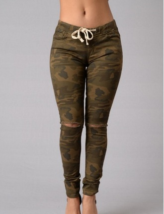 Camouflage Army Green Army Pants - Shop for Camouflage Army Green ...