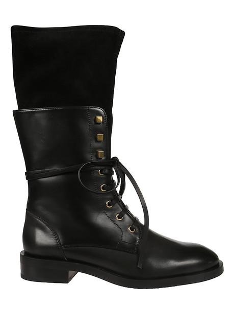 Stuart Weitzman Violet Laced-up Cargo Boots