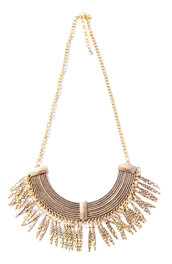 jewels,necklace,bib,aztec,gold,bronze,jewelry