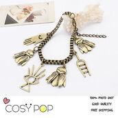 jewels,charm bracelet,chain,pendant,gold jewelry