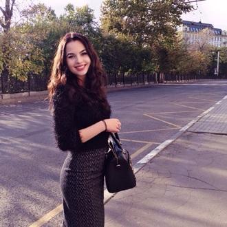 bag asos skirt black