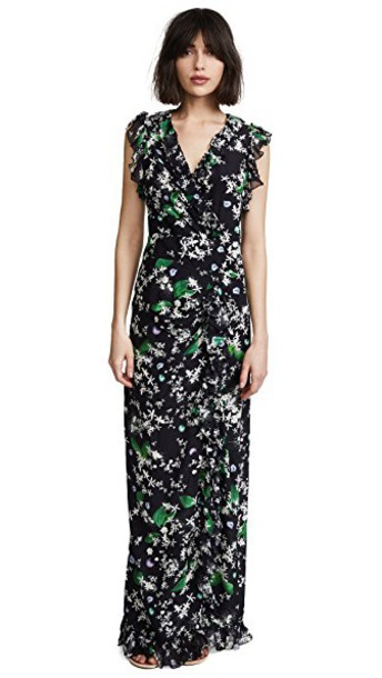 isolda dress daisy black