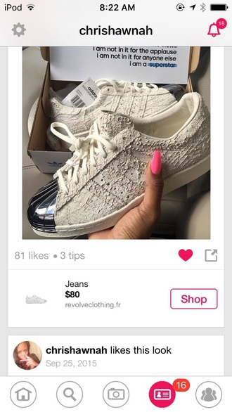 shoes creme silver adidas low top sneakers white snake print snake skin metallic adidas shoes dope unisex