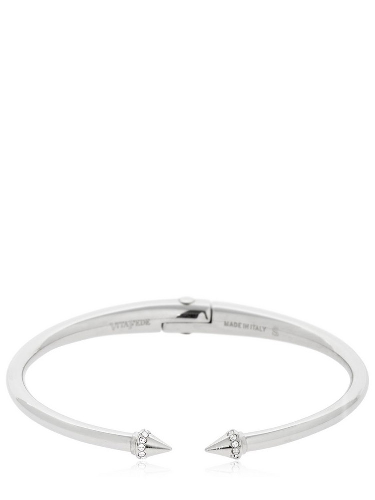 VITA FEDE Ultra Mini Titan Crystal Bracelet in silver