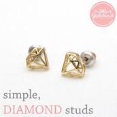 jewels,jewelry,earrings,diamond earrings,wedding earrings,diamonds,simple earrings