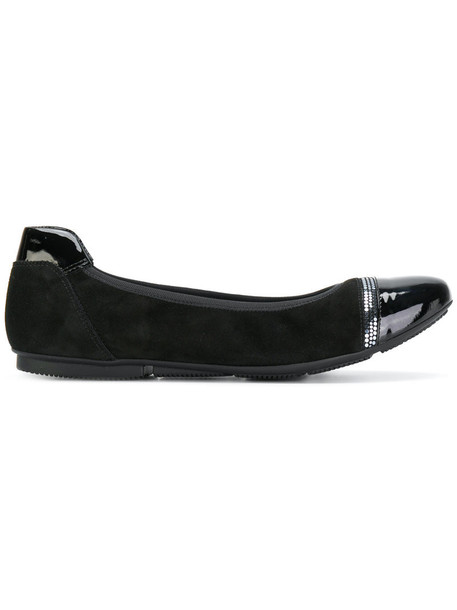 Hogan women leather black shoes