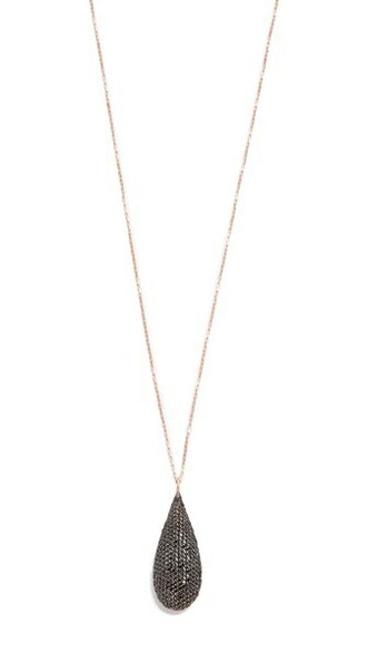 necklace black jewels
