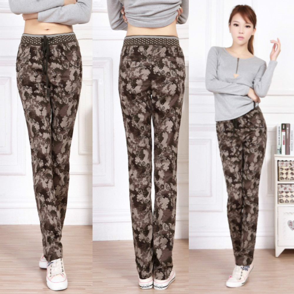 Elastic Plus Size Camo Pants For Women, Winter Military Pants, Baggy Camouflage Pants,Army Cargo Pants, Big Size Sports Trousers-in Pants & Capris from Apparel & Accessories on Aliexpress.com