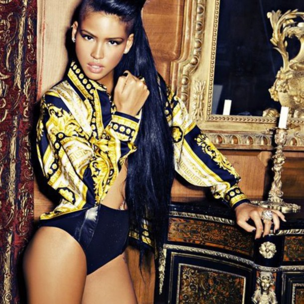 jacket cassie ventura swag winter swag