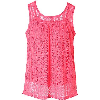 jcpenney | Pinky Crochet Lace Tank Top - Girls 4-16