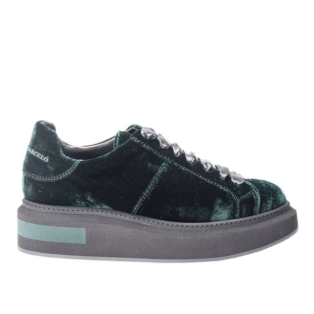 PALOMA BARCELÒ sneakers. women sneakers shoes green