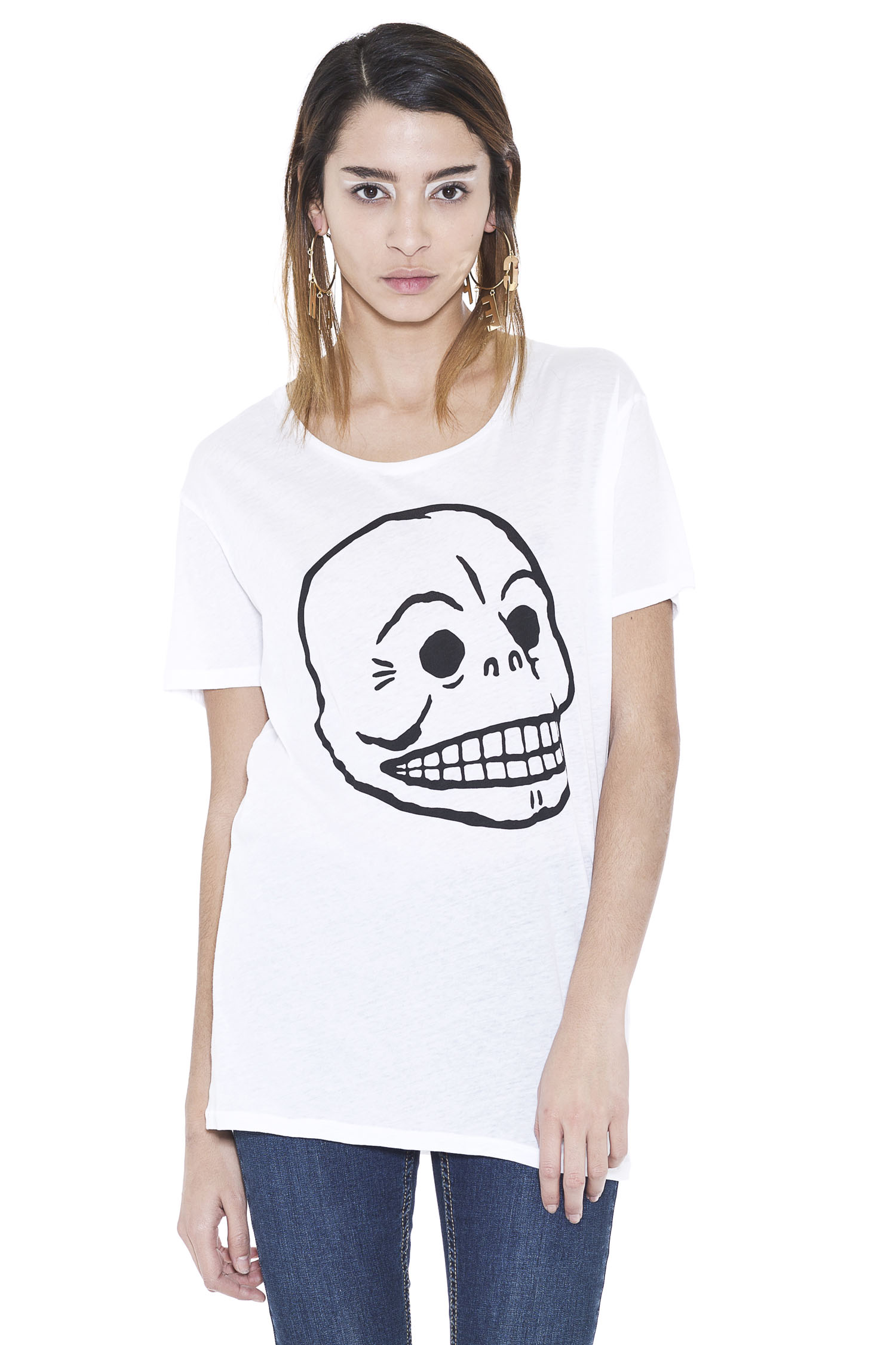 Easy Skull Tee | tops | Cheapmonday.com