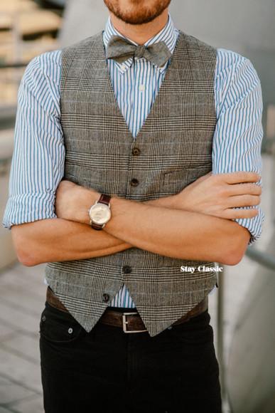 jacket striped shirt sunglasses blogger jewels stay classic bowtie tartan menswear mens suit
