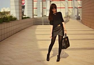 leather dress fashion sexy dress