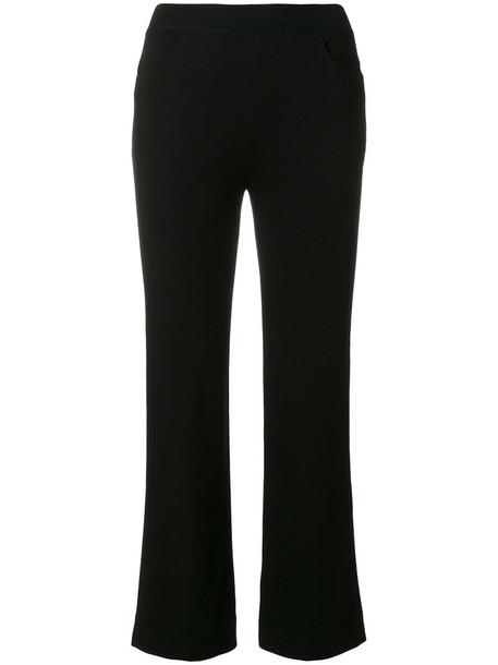 Missoni cropped women black pants
