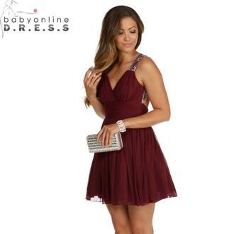dress burgundy burgundy dress short short dress short maroon dress prom prom dress short maroon prom dres style cute outfit dances