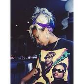 t-shirt,xscape,omg girlz,shirt,tiny,zonnique pullins,90s style