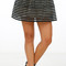 Ballerina pleated mini skirt