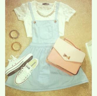 dress shirt bag pinafore dress denim dress