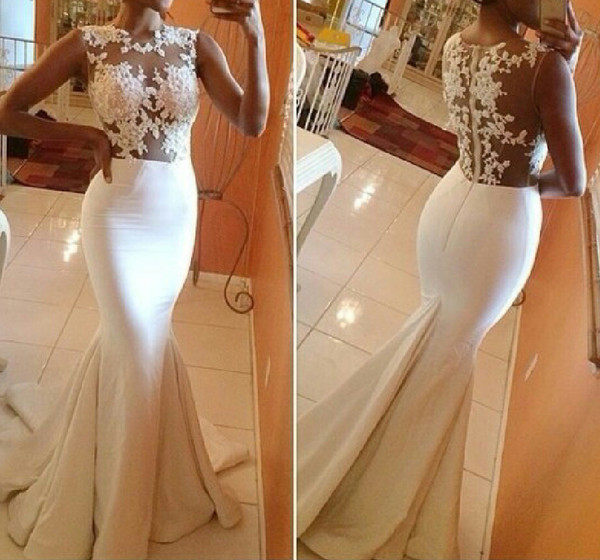 dress wedding dress white long gown