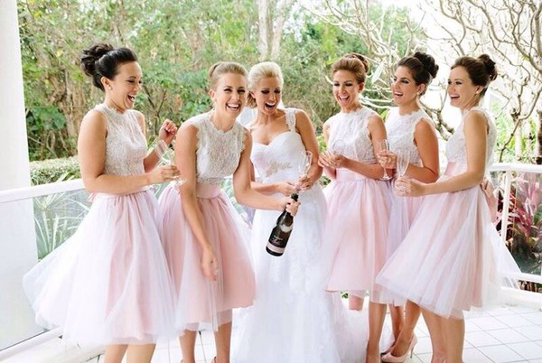 bridesmaid wedding dress