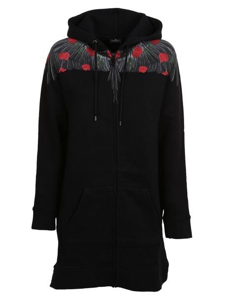 Marcelo Burlon hoodie long black sweater