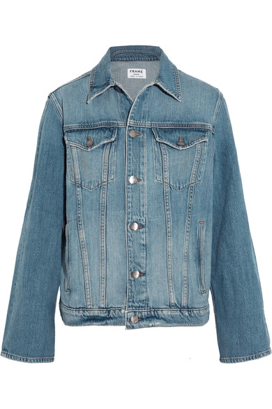FRAME - Le Jacket oversized denim jacket