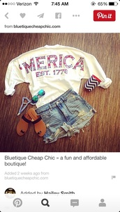 shirt,shorts,sweater,spirit jersey,america,summer,red,white,blue,sweatshirt,top,'merica,usa,patriotic,shoes