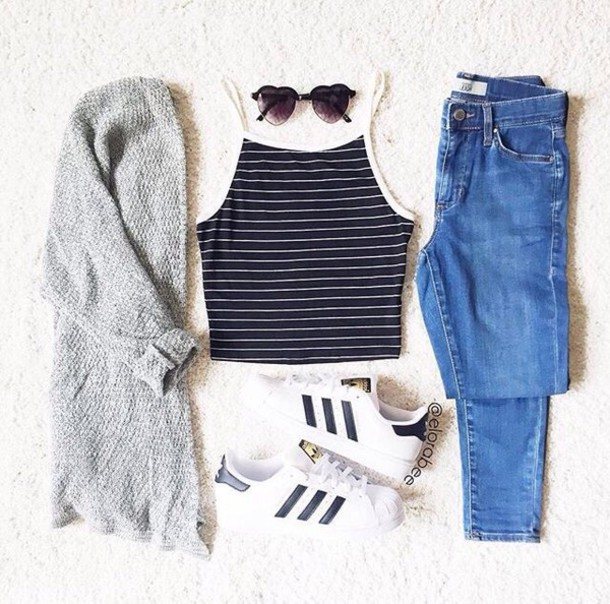 Cardigan tumblr tumblr outfit cute outfits aesthetic grey sweater - Wheretoget