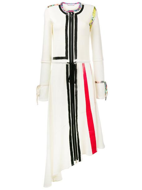 JW Anderson dress asymmetrical dress asymmetrical women white wool