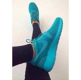 shoes nike nike roshe run running shoes nike roshe run blue nike blue blue shoes