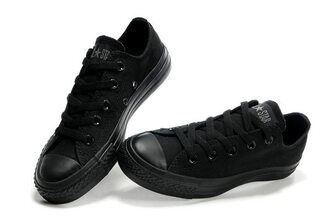 shoes black full black trainers converse converse shoes converse chuck taylor converse all star sneackers