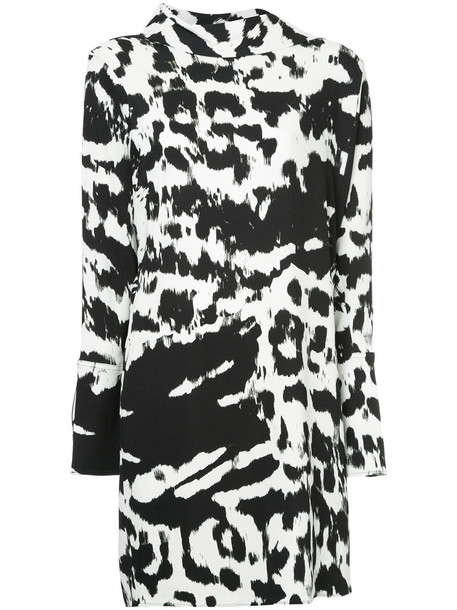 dress print dress zebra women spandex print black zebra print