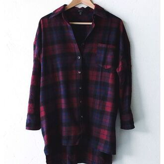 top nyct clothing flannel plaid shirt flannel shirt plaid button down