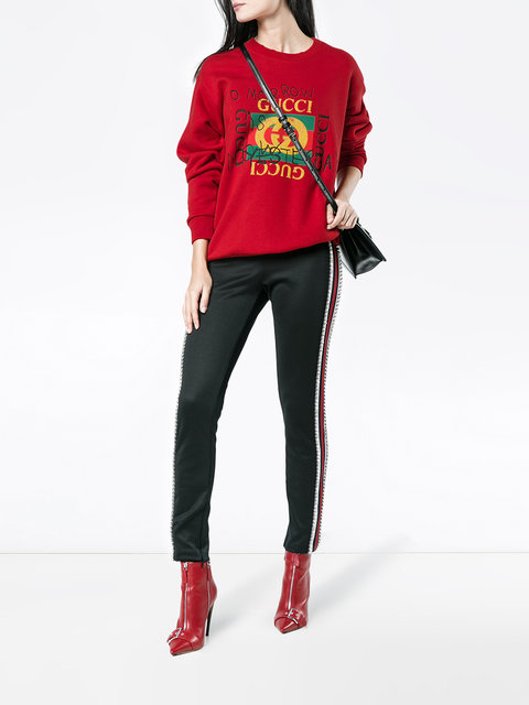 31a9c336105f Gucci Gucci Coco Capitán Logo Sweatshirt - Farfetch