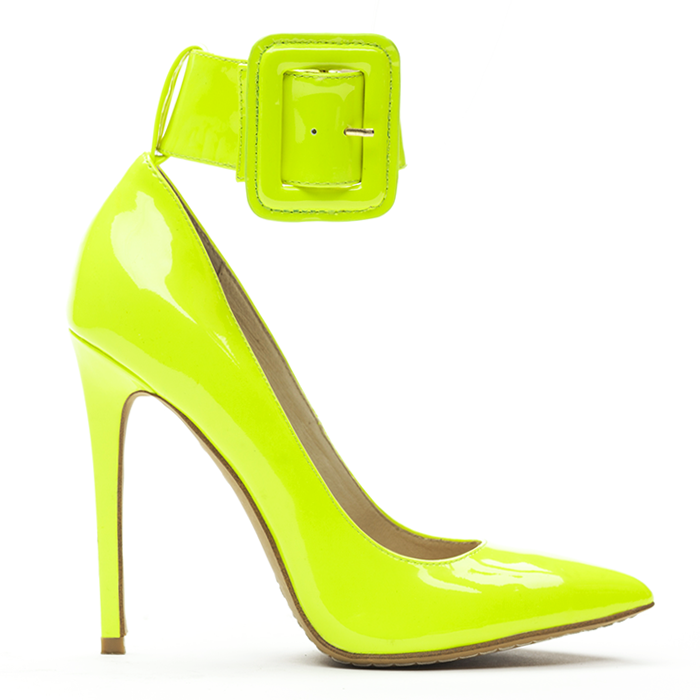 ZigiNY PAULINE Pump in Citron Patent Leather – FLYJANE