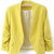 Rouche Pastel Blazer | Outfit Made