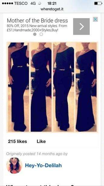 dress black unusual maxi dress
