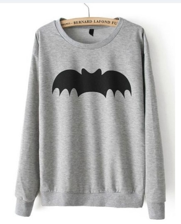 sweater batman black winter sweater