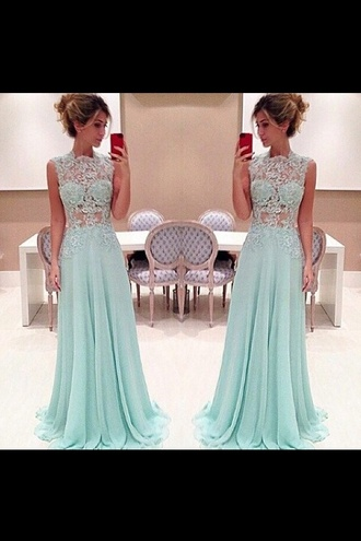 dress aqua marine dress clothes prom prom dress blue green lace dress embroidered elegant elegant dress classy dress stunning prom dress stunning dress beautiful beautiful dresses aqua aqua marine