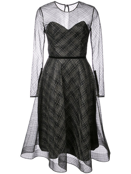 Nha Khanh dress metallic women black