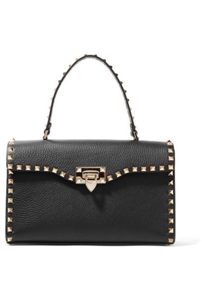 Valentino leather black bag